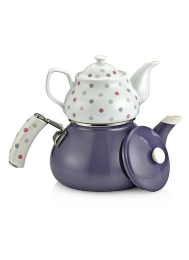 Teerose Porselen Çaydanlık-Schafer